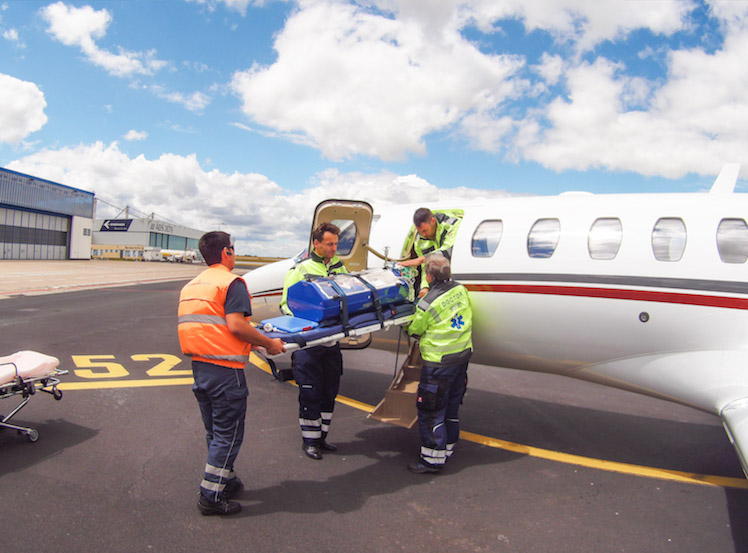 Air ambulance   Aeropartner